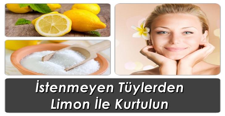 İstenmeyen Tüylere Karşı Limon Nasıl Uygulanır?