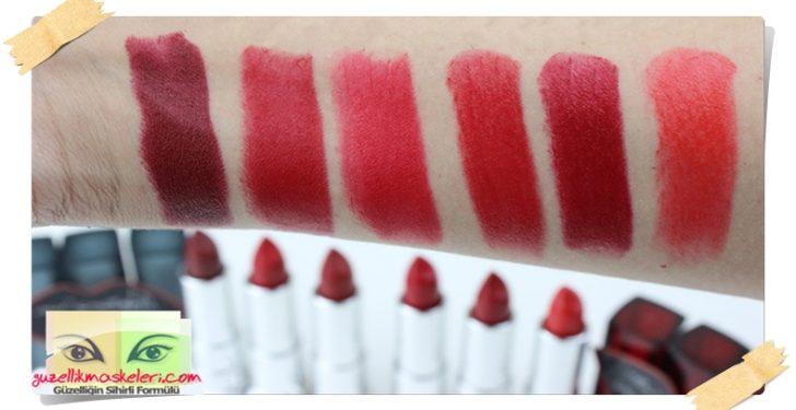 Maybelline Color Sensational Kırmızı Ruj Serisi Incelemesi