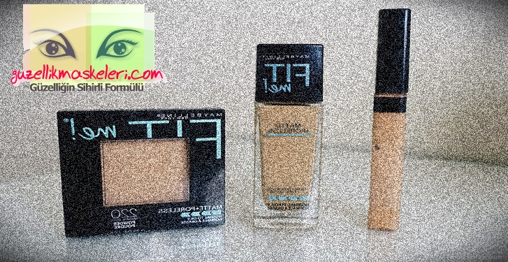 Maybelline Fit Me Fondöten İncelemesi