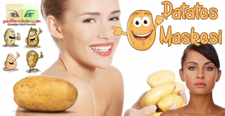 Patates Maskesi Tarifleri - Yorumları ve Faydaları