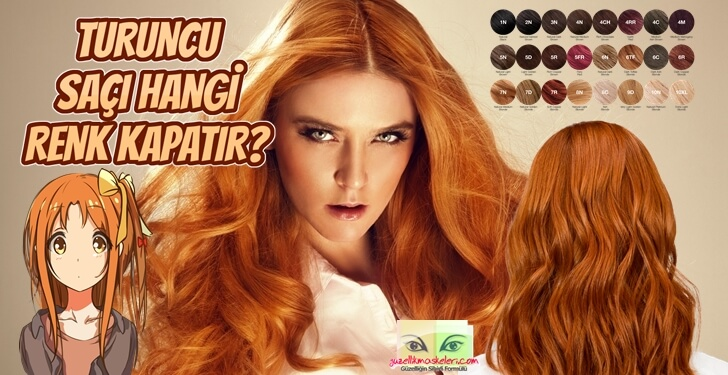 Turuncu Saçı Hangi Renk Kapatır?